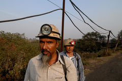 Coal Miner Stock Photography