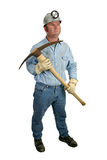 Coal Miner With Pickaxe 1 Royalty Free Stock Photo