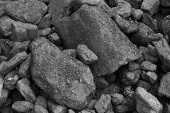Coal mineral black Stock Photos