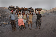 Coal mines in India Stock Photography