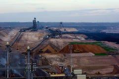 Coal Mining Royalty Free Stock Photography