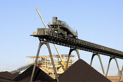 Coal Mining Royalty Free Stock Images
