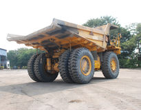 Coal mining dumper. In India Stock Photo