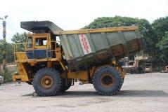 Coal mining dumper. In India Royalty Free Stock Photo