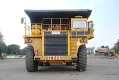 Coal mining dumper. In India Royalty Free Stock Photography