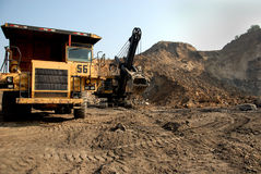 Coal Mining Equipment Stock Photography