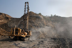 Coal Mining Equipment Stock Photos