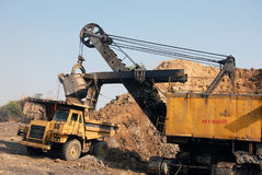 Coal Mining Equipment Stock Photo