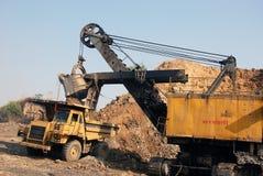 Coal Mining Equipment Stock Photo