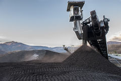 Coal mining industry Stock Photos
