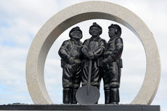 Coal mining memorial Royalty Free Stock Photography