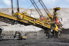 Coal mining Stock Photography