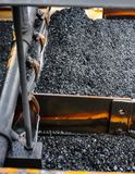 Coal Mining and processing Plant Equipment royalty free stock image