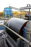 Coal Mining and processing Plant Equipment stock photos