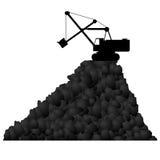 Coal Mining Technique-1 Stock Photo