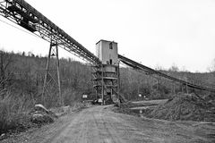 Coal Mining Tipple Royalty Free Stock Image