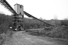 Coal Mining Tipple Stock Photo