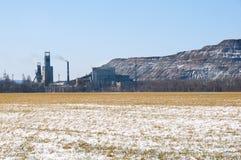 Coal mining in Ukraine Royalty Free Stock Photography