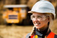 Coal mining wokrer Stock Photo
