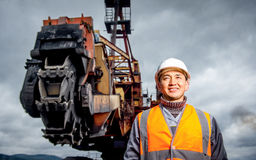 Free Coal Mining Worker Stock Photography - 93012852