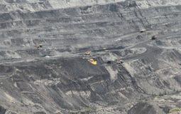 Coal open-pit Stock Photo