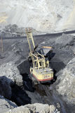 Coal output Royalty Free Stock Image