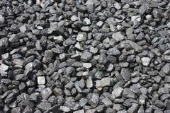 Coal Pile. A Pile of Large Lumps of Black Coal Royalty Free Stock Photos