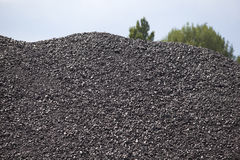 Coal pile Stock Images