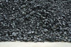 Coal pile Royalty Free Stock Image