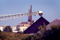 Coal Pile, Detroit Stock Image