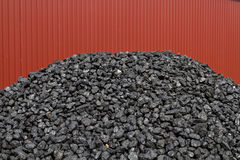 Coal pile Royalty Free Stock Photography