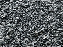 Coal piled up Royalty Free Stock Photos