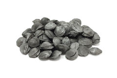 Coal pits from fruit Stock Photo