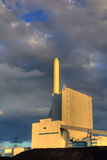 Coal plant Royalty Free Stock Photography