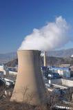 Coal power plant stock image