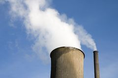 Coal power plant Stock Photography