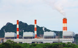 Coal power plant. Stock Images