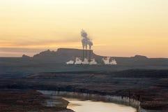 Coal power plant Stock Photography