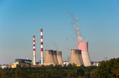 Coal power plant. Royalty Free Stock Images