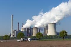 Coal Power Plant Neurath I Royalty Free Stock Image