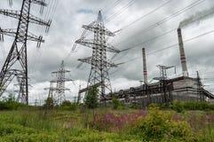 Coal power plant Royalty Free Stock Image