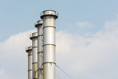 Coal Power Plant Towers Stock Photos