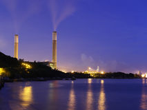 Coal power station Stock Photos