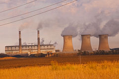 Coal Power Station 3227 Stock Images