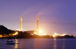 Coal power station Royalty Free Stock Photography