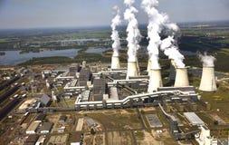 Coal power station Royalty Free Stock Photo