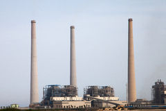 Coal power station Royalty Free Stock Image