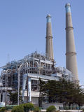 Coal Powered Electrical Power Plant Stock Photography