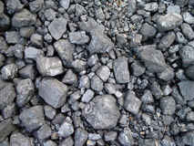 Coal for powering a train Royalty Free Stock Photography
