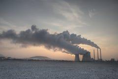 Coal powerplant Royalty Free Stock Image